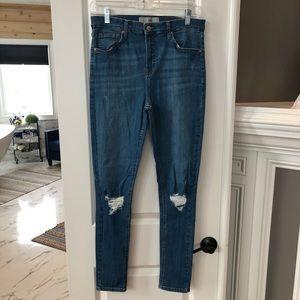 NWOT Woman's Topshop Jeans.
